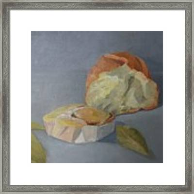 Tea Time Framed Print by Genevieve Brown