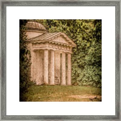 Kew Gardens, England - Temple Of Bellona Framed Print by Mark Forte