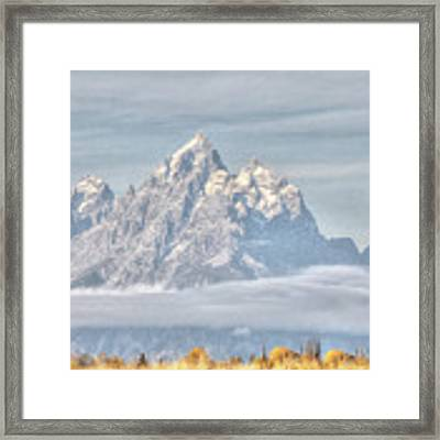 Teton Long Shot Framed Print by David Armstrong