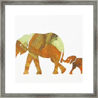 Thanks Mom Framed Print by Candace Shrope
