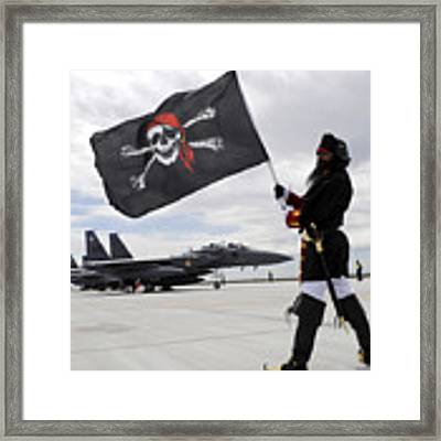 The 428th Fighter Squadron Buccaneer Framed Print by Stocktrek Images