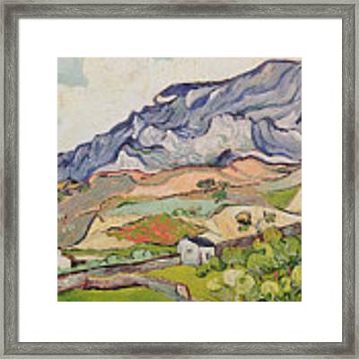 The Alpilles Framed Print by Vincent Van Gogh