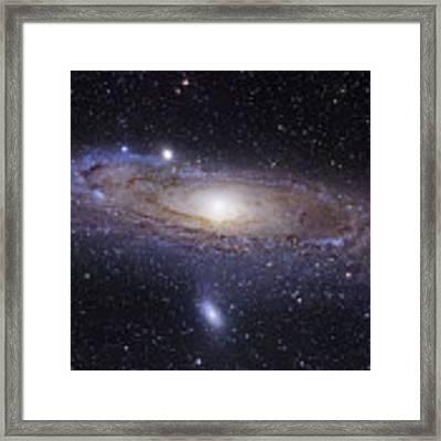 The Andromeda Galaxy Framed Print by Robert Gendler