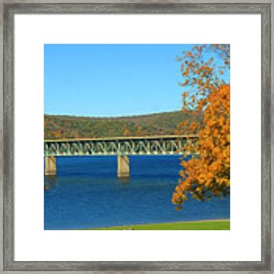 The Bridge Framed Print by Rick Morgan