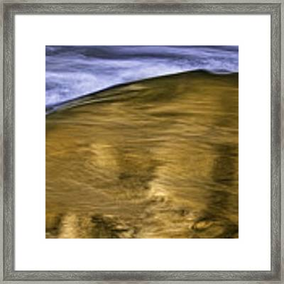 The Color Of Water Framed Print by Ken Barrett