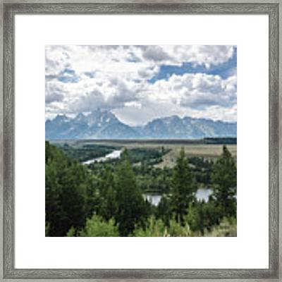 The Grand Tetons Framed Print by Margaret Pitcher