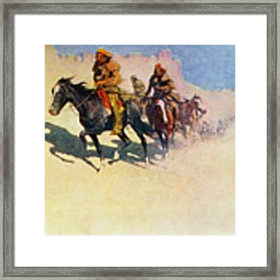 The Great Explorers Framed Print