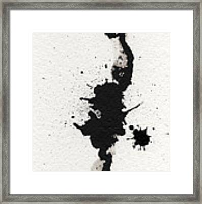 The Inexplicable Ignition Of Time Expanding Into Free Space Phase One Number 11 Framed Print