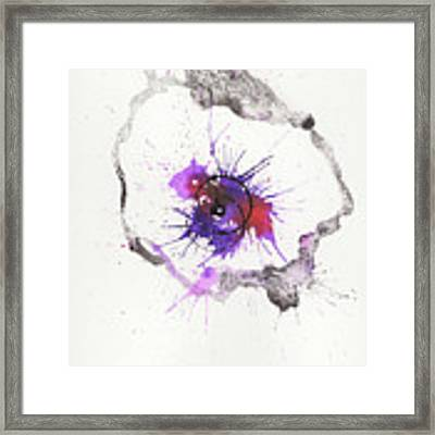 The Inexplicable Ignition Of Time Expanding Into Free Space Phase Two Number 04 Framed Print by Mark M  Mellon