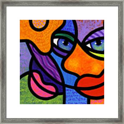 The Introduction Framed Print by Steven Scott