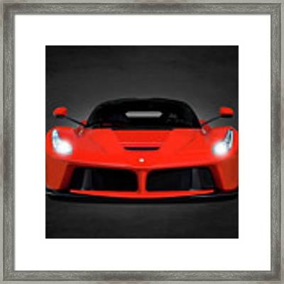The Laferrari Framed Print by Mark Rogan