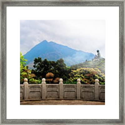 The Light Of Buddha Framed Print by Kevin McClish