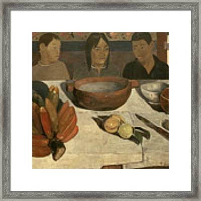 The Meal Framed Print