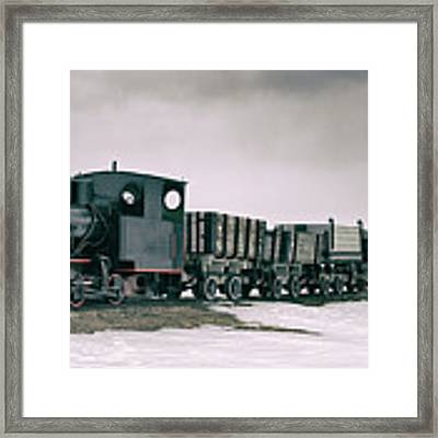 The Most Northern Train? Framed Print by James Billings
