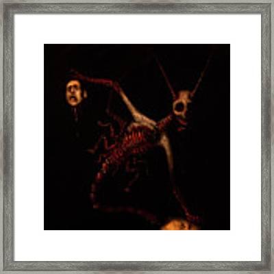The Murder Bug - Artwork Framed Print by Ryan Nieves