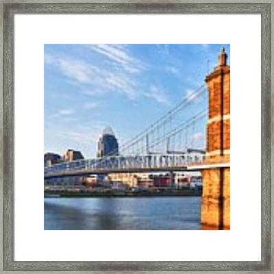 The Old And The New Framed Print by Mel Steinhauer
