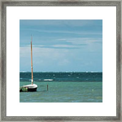 The Sea Calls My Name Framed Print by Break The Silhouette