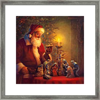 The Spirit Of Christmas Framed Print