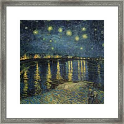 The Starry Night Framed Print by Vincent Van Gogh