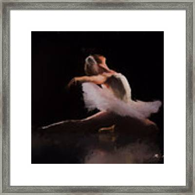 The Swan  Framed Print by Rosario Piazza