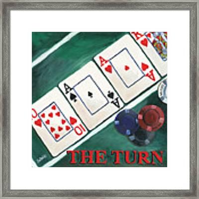 The Turn Framed Print by Debbie DeWitt