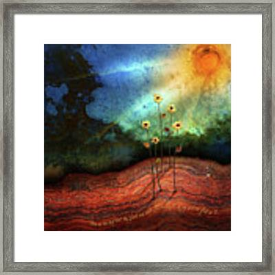 This Is The Day Framed Print by Shevon Johnson