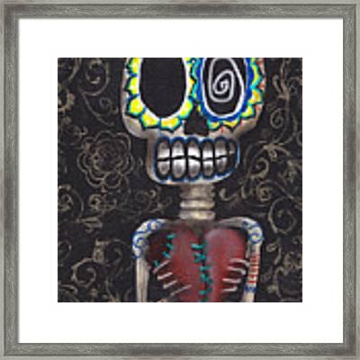 Toma Mi Corazon Framed Print
