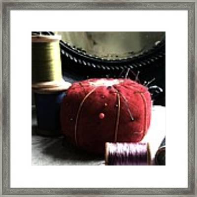 Tools Of The Trade Framed Print by Delight Worthyn