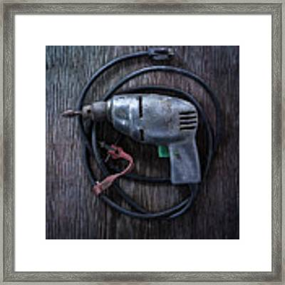 Tools On Wood 29 Framed Print