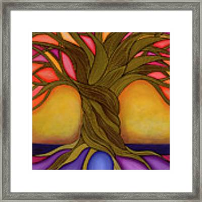 Tree Of Life Framed Print by Carla Bank