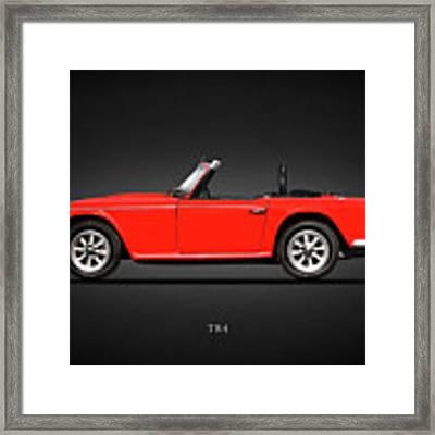 Triumph Tr4 Framed Print by Mark Rogan