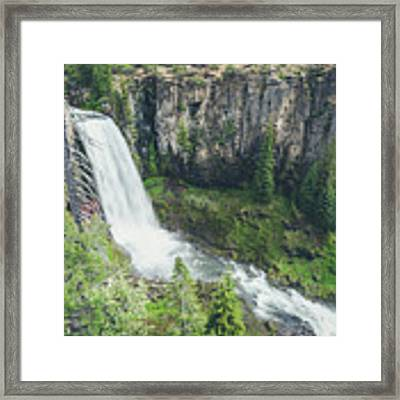 Tumalo Falls Framed Print by Margaret Pitcher