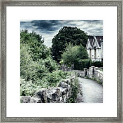 typical old English village Framed Print by Ariadna De Raadt
