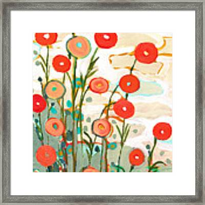 Under The Desert Sky Framed Print