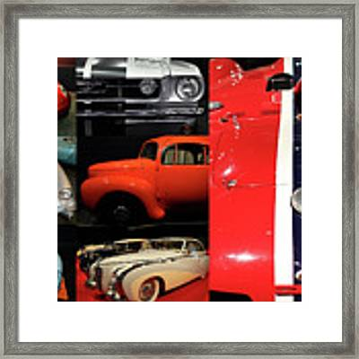 Unique And Eclectic Automotive Classic Car Collection 20170506 Framed Print by Wingsdomain Art and Photography