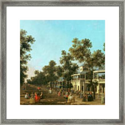 Vauxhall Gardens The Grand Walk Framed Print