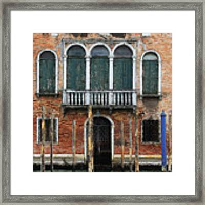 Venice Old Palace Framed Print by Julian Perry