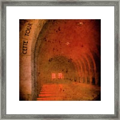 Verdun, France - Ossuary Hall Framed Print by Mark Forte