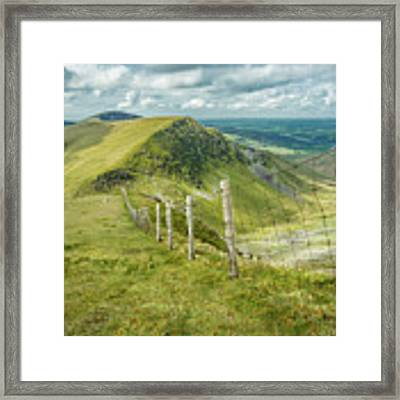View From The Rangers Path Framed Print by Nick Bywater