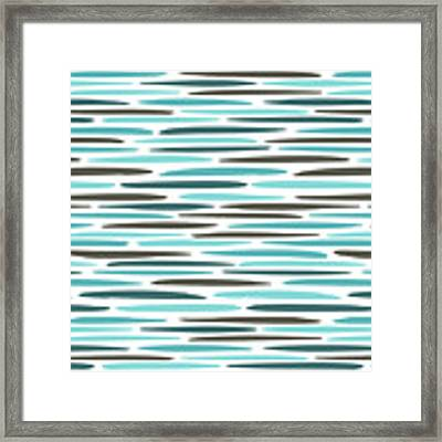 Water Ripple Framed Print by Jocelyn Friis