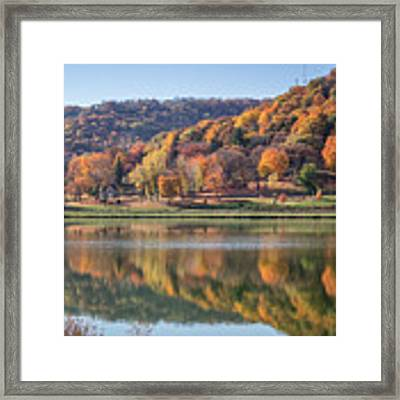 West Lake Winona With Woodlawn 2x3 Framed Print by Kari Yearous
