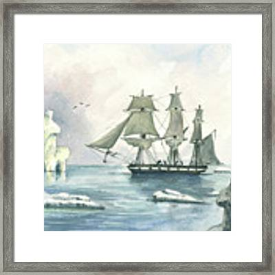 Whaler Framed Print by Juan Bosco
