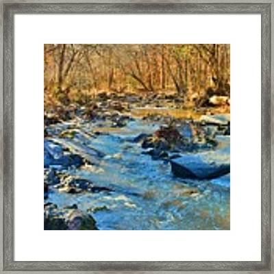 What Streams Are Made Of Framed Print by Lisa Wooten