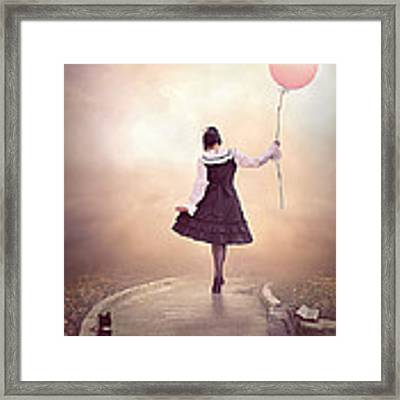 When It's Spring ... Framed Print by Nataliorion