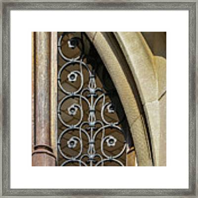 Window Elements Framed Print by Todd Blanchard