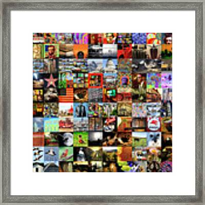 Wingsdomain Featured Collection Of Unique And Eclectic Fine Art And Photography Wall Art Framed Print by Wingsdomain Art and Photography