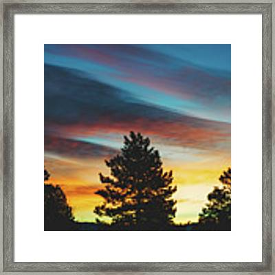 Winter Morning Glory Framed Print by Jason Coward