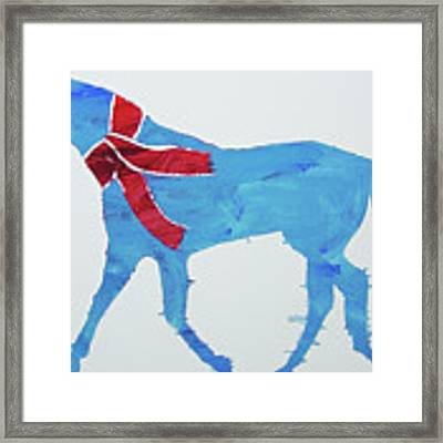 Winter's Coming Framed Print by Candace Shrope