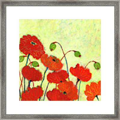 Wishful Blooming Framed Print