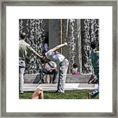 Yerba Buena Framed Print by Kate Brown